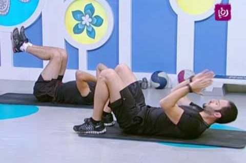 تمارين لتقوية عضلات البطن